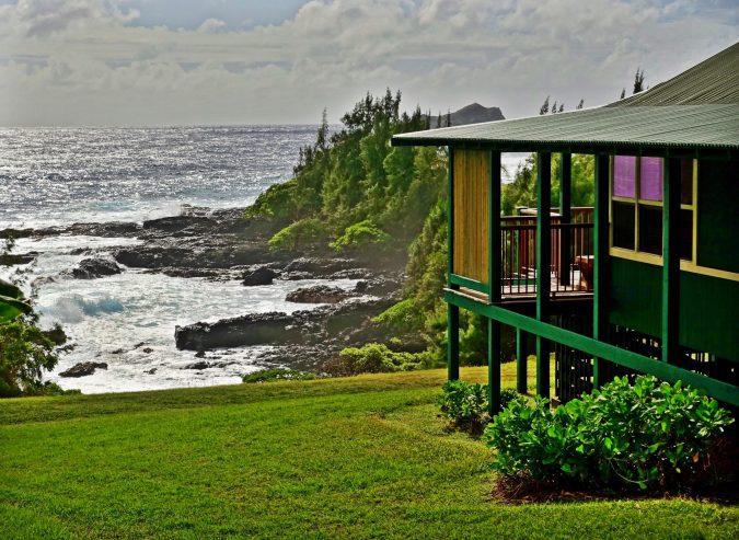 Travaasa Hana bungalow view