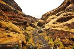The Road to Hana canyon
