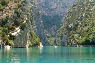 Gorge du Verdon boat rental