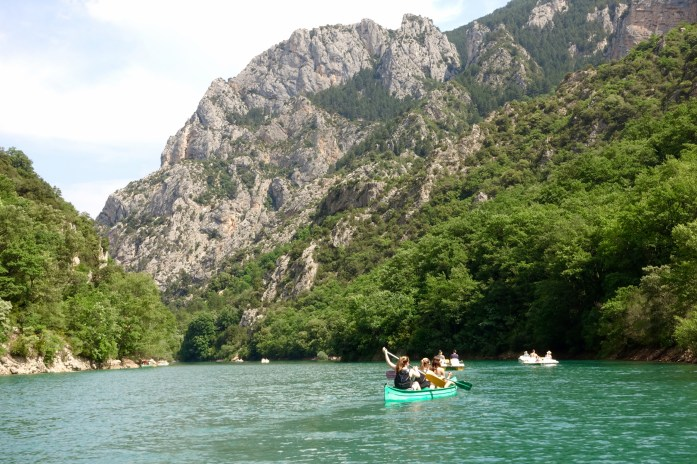 Gorge du Verdon canoes