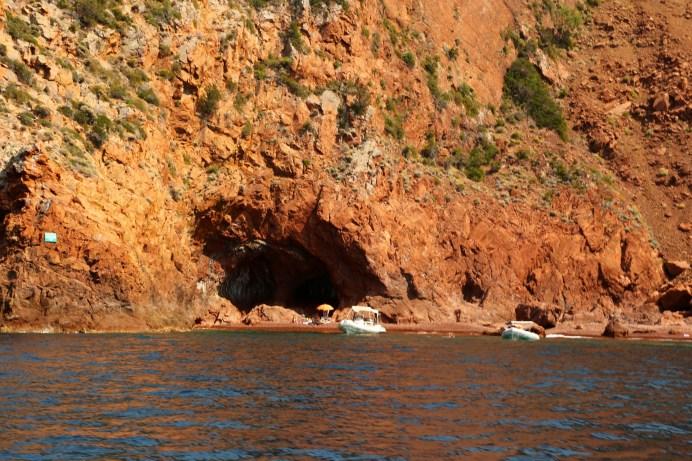 Scandola Nature Reserve boating