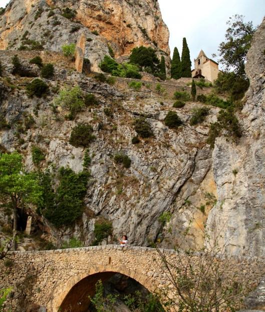 Notre-Dame de Beauvoir chapel walk bridge