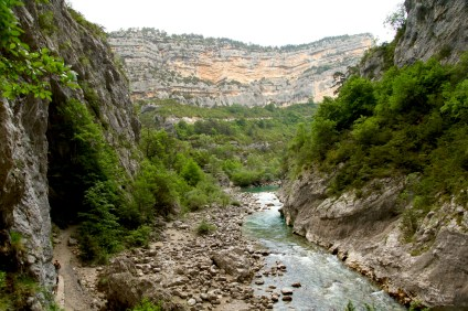 Gorge du Verdon Pointe Sublime canyon hike