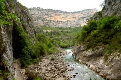 Gorge du Verdon Pointe Sublime canyon hike