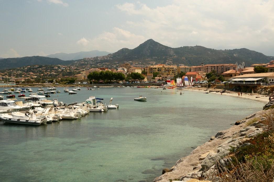 L'Ille-Rousse harbor