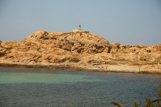 L'Ille-Rousse lighthouse