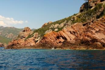 Scandola Nature Preserve big rocks