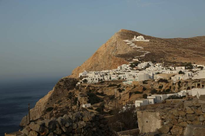 Chora Folegandros wide view