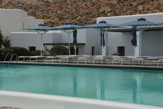 Anemi Hotel pool terrace