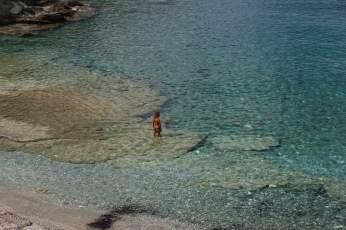 Agios Georgics clear water