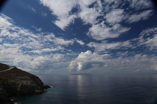 Where the sky kisses the sea...