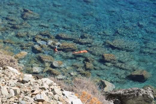 Folegandros Galifos swimmers