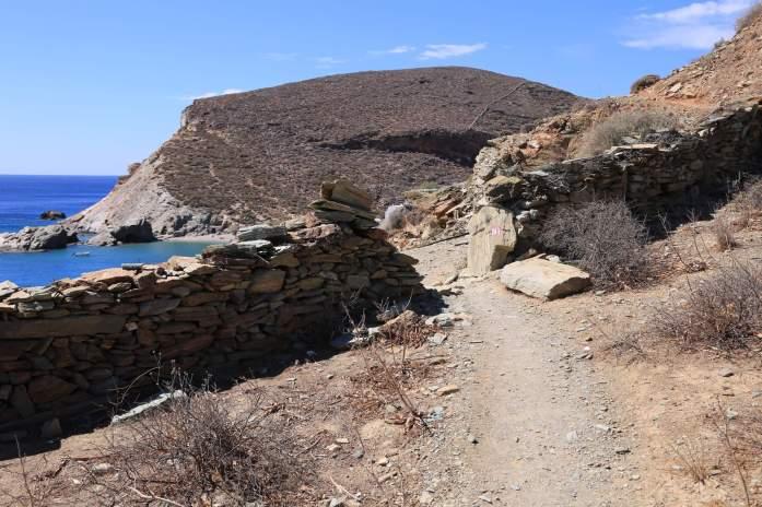 Folegandros Galifos path