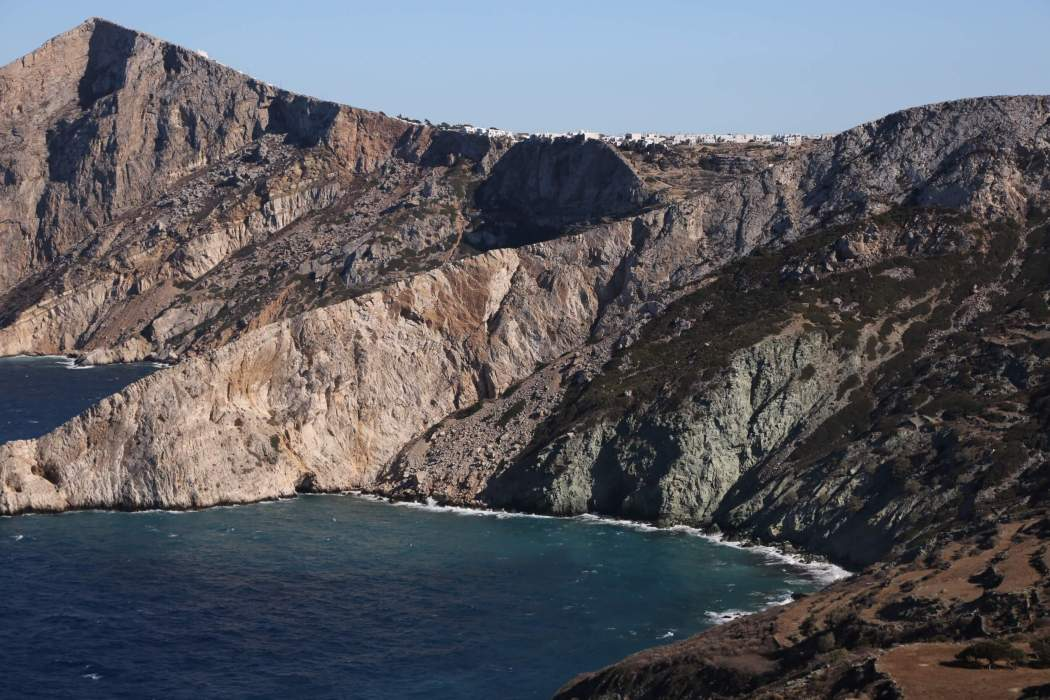 Chora Town View Folegrandros