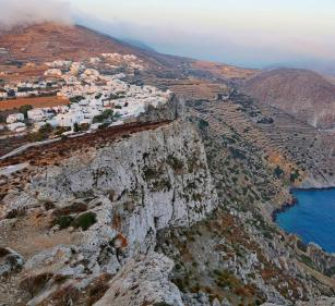 Chora Folegandros sunrise
