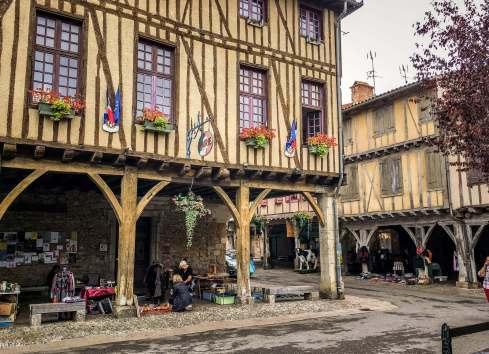 Mirepoix Languedoc street corner