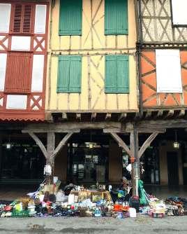 Mirepoix, Languedoc Market Day
