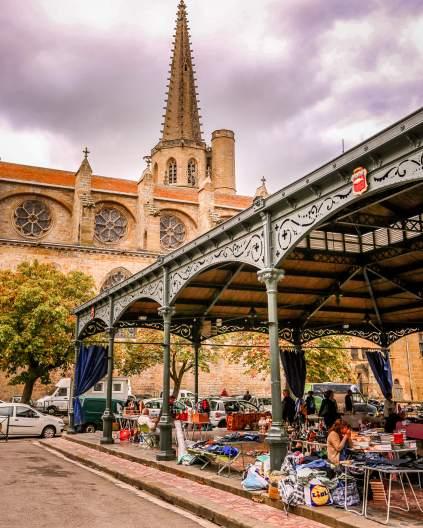 Mirepoix, Languedoc market