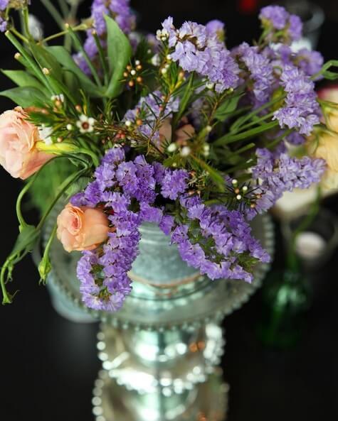 Areias do Seixo flower arrangement