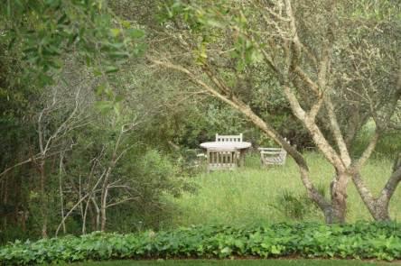 Casa Arte garden view
