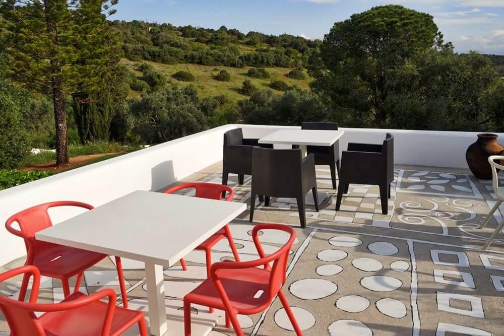 Casa Arte terrace chairs