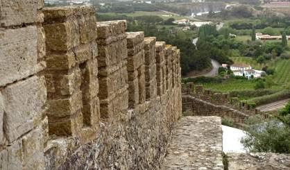 Obidos castle ramparts