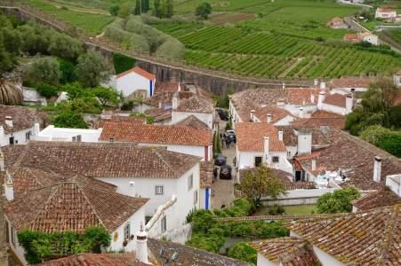 Obidos village view