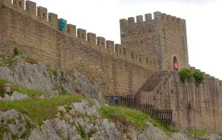 Obidos castle walls