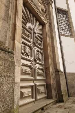 Porto church doorway