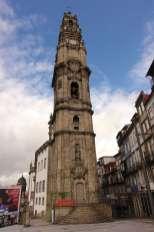 Porto church tower