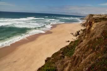 Areias do Seixo cliff view