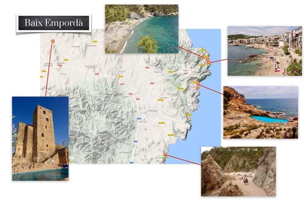 Baix Empordà picture map