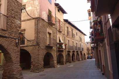 La Seu d'Urgell porticos