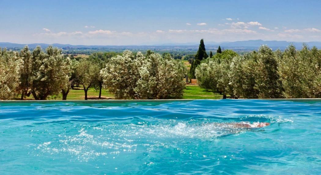 Hotel Mas Lazuli pool view