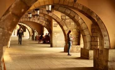 Girona porticos