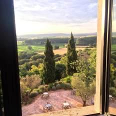 Castell d'Emporda window view