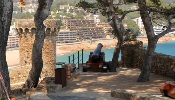 Tossa del Mar cannon