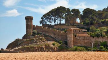 Tossa del Mar castle entrance
