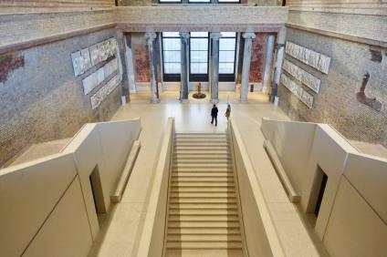 Neues Museum stairway