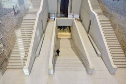 Neues Museum stairs