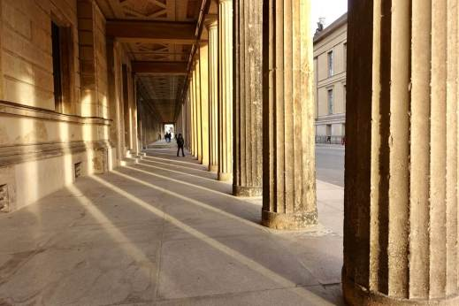Museum Island columns