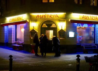 Restaurant Austria Kreuzberg entrance