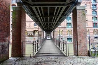Speicherstadt bridge