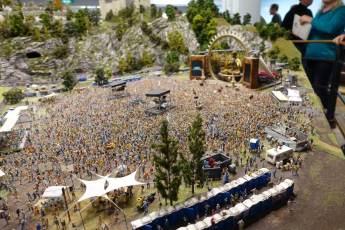 Miniatur Wunderland concert scene