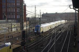 Hamburg train tracks