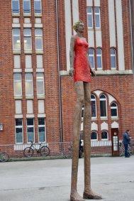 Bibliotek sculpture