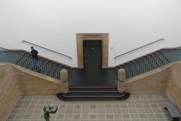 Kunsthalle Hamburg art deco stairway