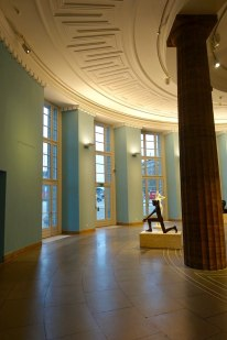 Kunsthalle Hamburg curved gallery