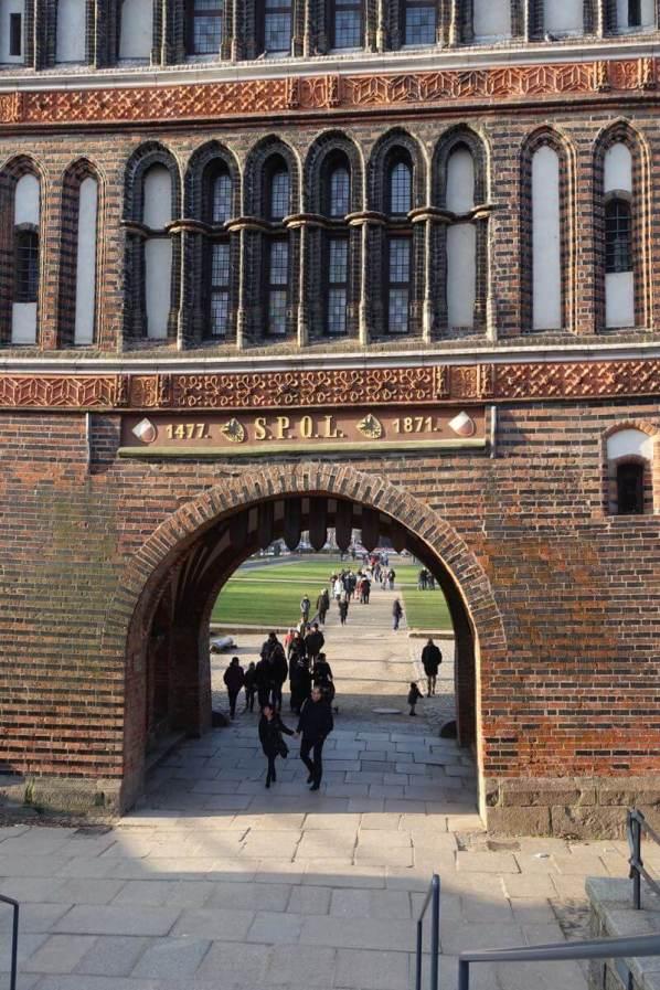 Lübeck Holstentor gate
