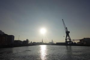 Lübeck harbor